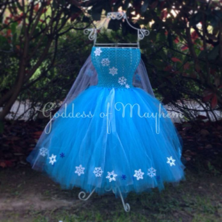 Frozen inspired tutu