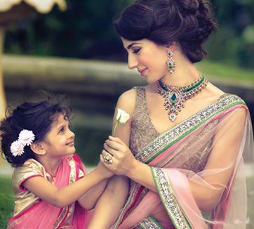Bridal Jewelry by TBZ THE ORIGINAL http://www.TBZtheoriginal.com/ Gold   #Indian_Wedding Desi Jewellery