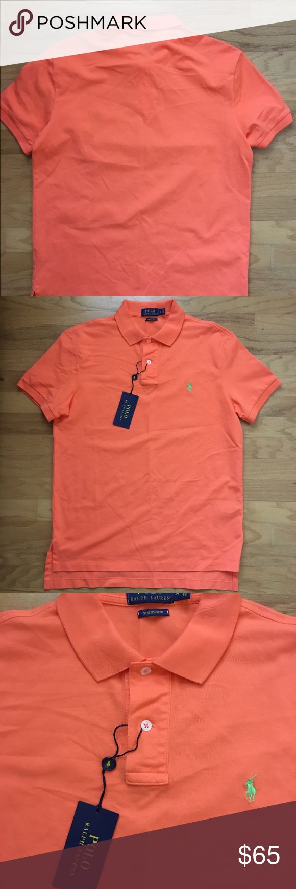 Men polo shirt by Ralph Lauren size M Brand new men polo shirt by Ralph Lauren. Brand new with tags. Size M Polo by Ralph Lauren Shirts Polos