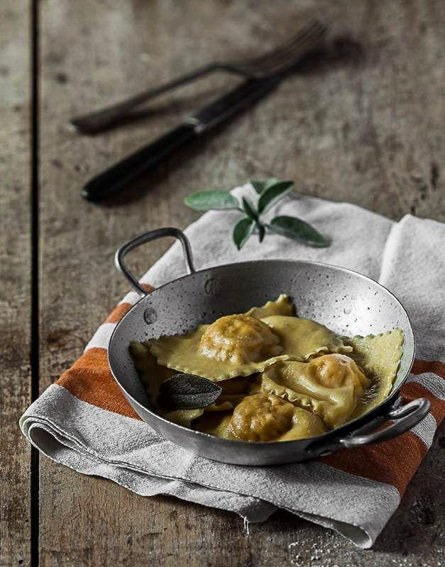 #Raviolis au #butternut et au beurre de #sauge