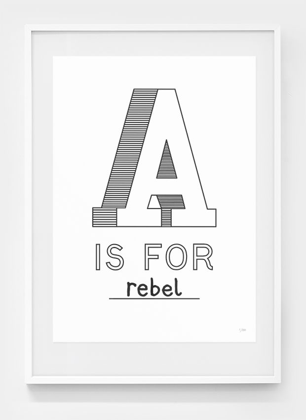 A is for Rebel by Editions of 100