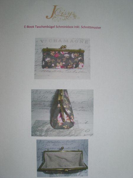 EBook  Bügeltaschen Schminkbox Nähen Anleitung  von Leinen-Traum auf DaWanda.com