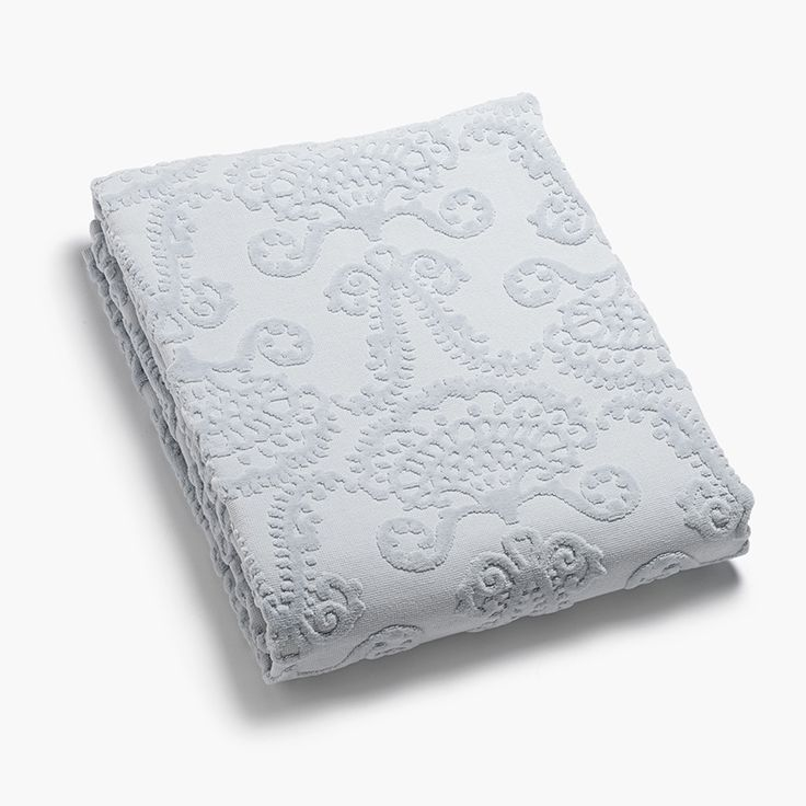 Lennol | MILJA Towel, light blue (bath and hand towels)