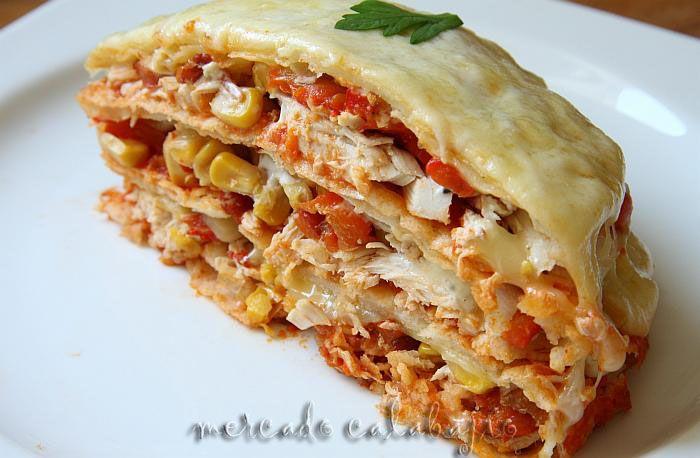 Pastel Azteca (pastel Indio) | Mercado Calabajío | Blog de cocina con recetas paso a paso