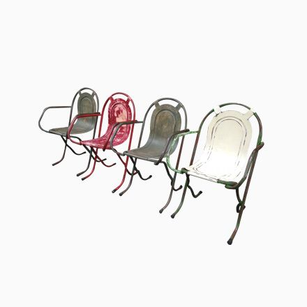 Industrielle Stapelstühle aus Metall, 1940, 4er Set Jetzt bestellen unter: https://moebel.ladendirekt.de/garten/gartenmoebel/gartenstuehle/?uid=ecbcf493-11ad-5d79-92b2-94d0c5aaec4a&utm_source=pinterest&utm_medium=pin&utm_campaign=boards #garten #gartenmoebel #gartenstuehle