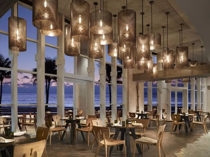 Burlock Coast Seafare & Spirits at the Ritz Carlton Fort Lauderdale