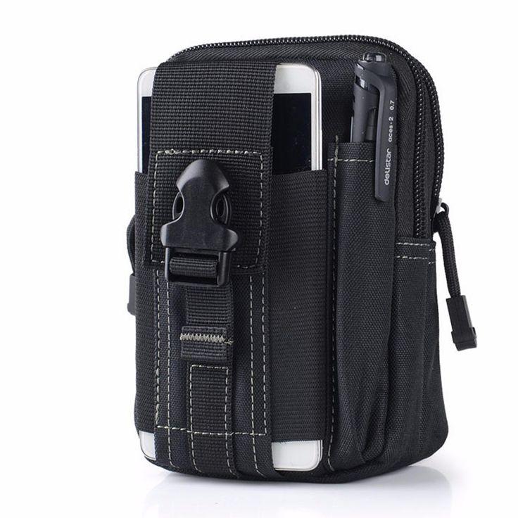 Außen Taktischen Hüfttasche Gürteltasche EDC Camping Wandern Telefon-beutel-mappen Kit für Sport Fitnessraum Fitness Joggen Rennen
