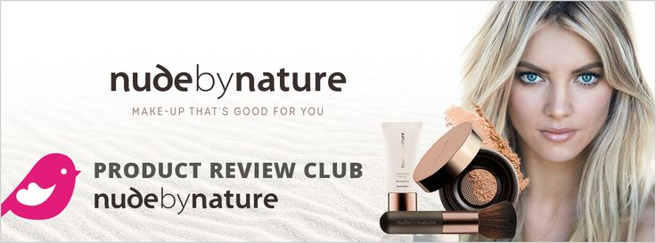 New Product Review Club Offer: Nude by Nature  #loveNudebyNature