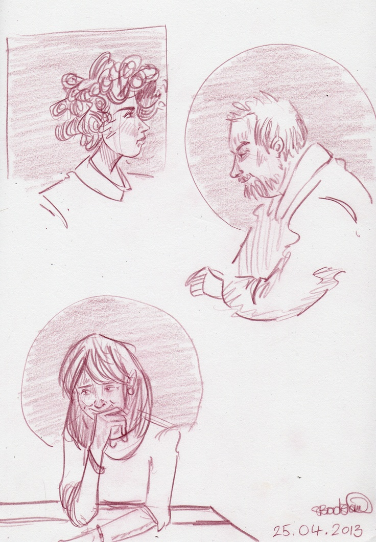 some 2 mins oberservational sketchies of life