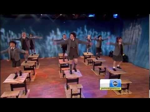 "MATILDA: THE MUSICAL (Broadway) - ""Naughty"" / ""Revolting Children"" [LIVE @ GMA]"