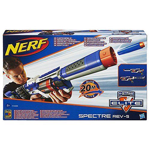 Nerf - N-Strike Elite - Spectre REV-5 - Fusil avec Canon Rotatif: Amazon.fr: Jeux et Jouets