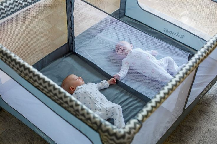 Baby Shower Haul Romp & Roost Play Yard for Twins - Trends In Twos