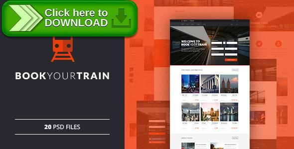 [ThemeForest]Free nulled download Book Your Train - Online Booking PSD Template from http://zippyfile.download/f.php?id=4518 Tags: booking, buy tickets, journey, online reservation, rail, rail booking, tickets, tour, train, train tickets, travel, vacation