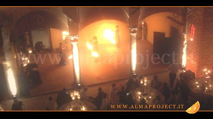 ALMA PROJECT - Fireshow 2013 @ Castello il Palagio