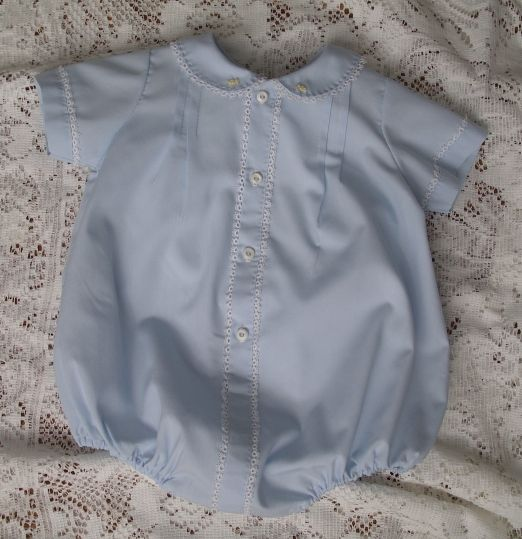 Sweet & Simple Bubble & Bonnet  Blue Kit by Old Fashioned Baby