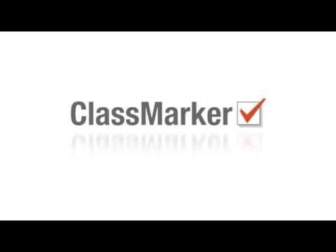 How to create online quizzes. Watch the online quiz demo from ClassMarker!