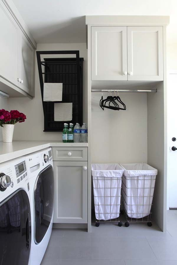 60 amazingly inspiring small laundry room design ideas - Laundry Design Ideas