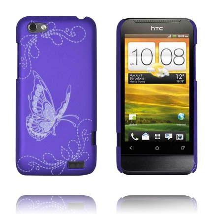Joy (Violetti) HTC One V Suojakuori