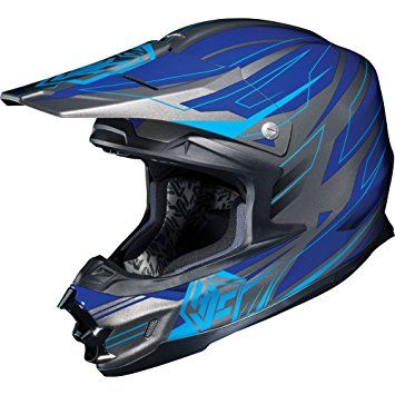 HJC Talon Men's FG-X Dirt Bike Motorcycle Helmet – MC-2 / 2X-Large