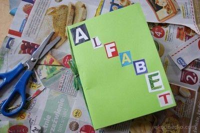 książeczka dla dzieci alfabet