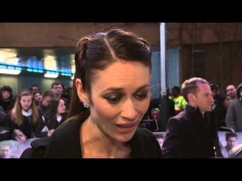 "Olga Kurylenko's Official ""Oblivion"" UK Premiere Soundbites - http://hagsharlotsheroines.com/?p=29367"