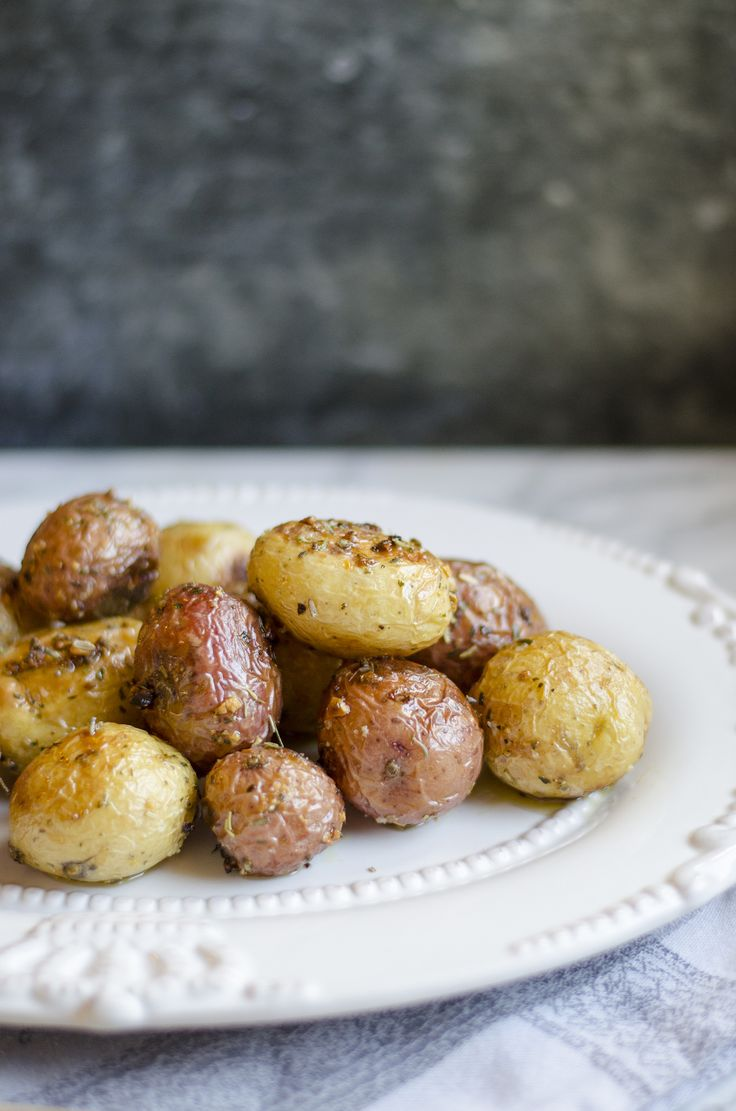 Roasted Baby Potatoes with Herbs Giada De Laurentiis