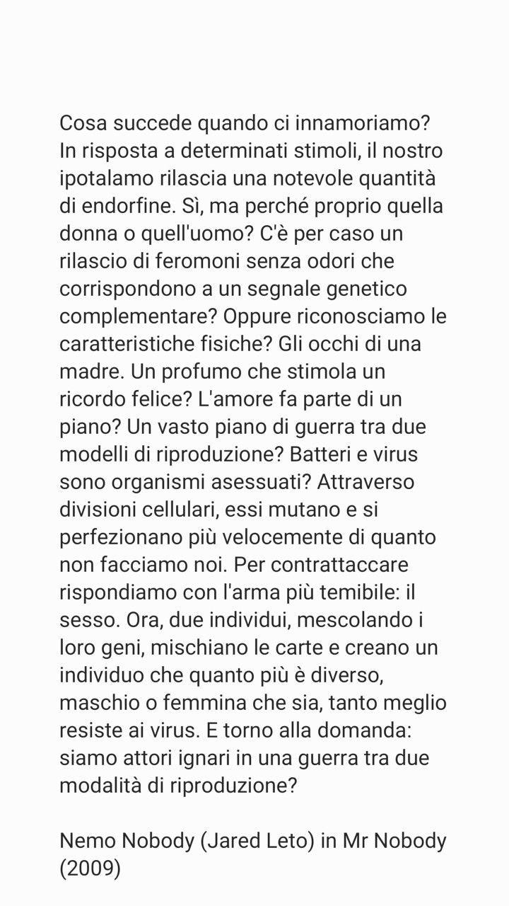 Mr. Nobody (2009) #jaredleto #film #mrnobody #quotes #movie #cinema
