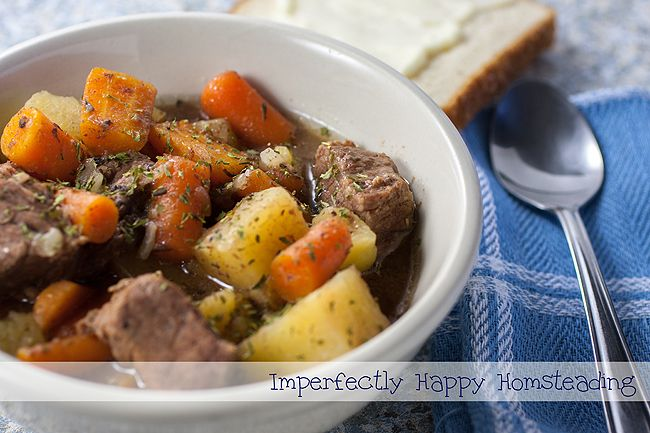 Fast & Easy Instant Pot Beef Stew. All day flavor in just one hour!