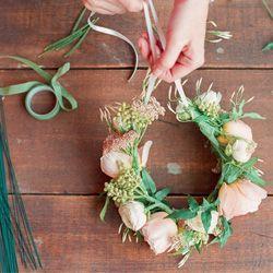 Love flower crowns? Create this fun hair beauty!