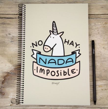 Libretas A4 Mr.Wonderful. Se vende en: www.mrwonderfulshop.es  #libreta #notebook #papeleria