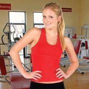 CINDY Plain Wholesale Gym Singlet Online