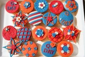 koninginnedag cupcake - Google zoeken