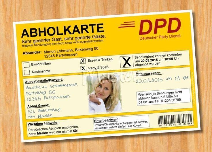 The Mesmerizing Ausgefallene Einladungskarten Zum 50. Geburtstag Pics  Below, Is Other Parts Of Ausgefallene Einladungskarten Geburtstag Written  Piece Which ...
