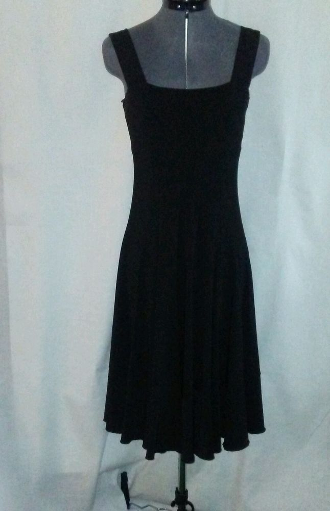 """""""Little Black Ball Dancing Dress"""" SPANX Slip Over Shaper Size S 4/6 Stretchy  #SPANX #SlipShapers"""