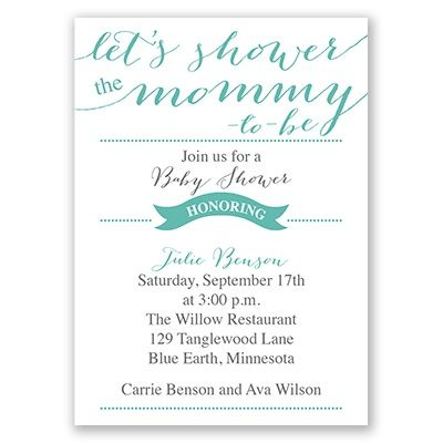 108 best Baby Shower images on Pinterest Baby shower invitations - baby shower invitation letter