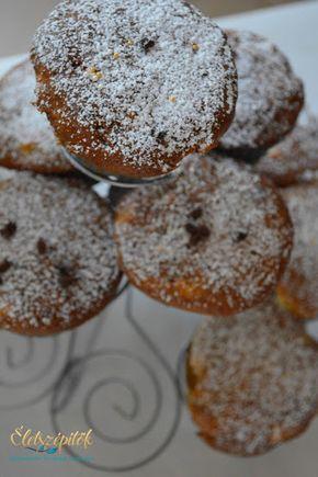 Fél óra és kész! Almás-csokis muffin   Életszépítők