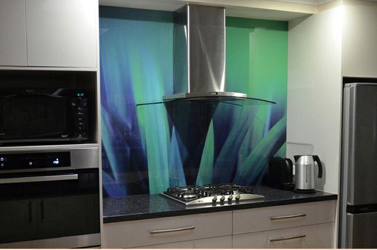 VIVANT GLASS | Melbourne | Printed Glass kitchen splashback