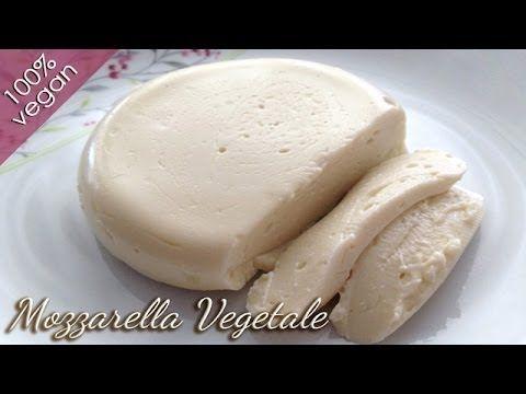 Mozzarella Vegana - La Mozzarella Vegetale di Alice - YouTube
