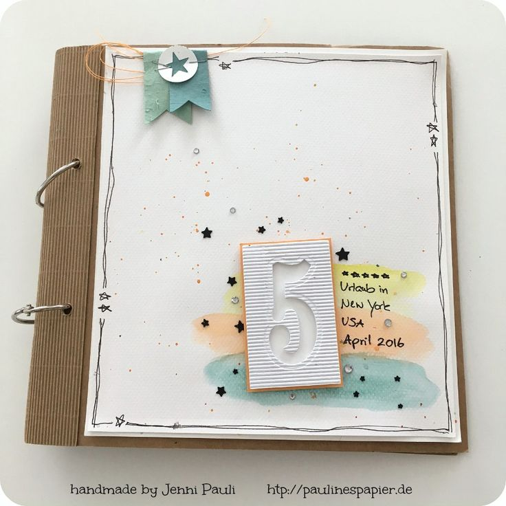 Stampin'Up! Minialbum Jenni Pauli mit Video