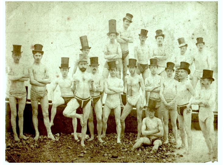 Брайтонский клуб любителей плавания. США. 1863г.
