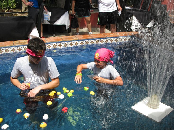 These junior racers are having a blast tackling the FUN FILLED Duck Challenge!!