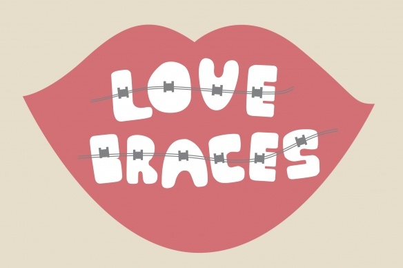 Who knew there was a  #braces font?! #LoudounOrthodontics www.loudounorthodontics.com
