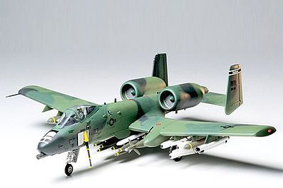 Tamiya A-10 Thunderbolt II -- Plastic Model Airplane Kit -- 1/48 Scale -- #61028 www.hobbylinc.com