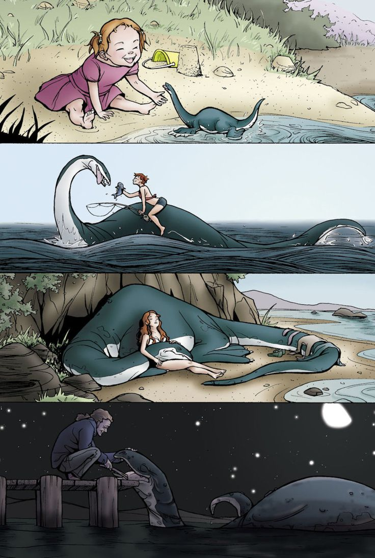 Sea Monster Love