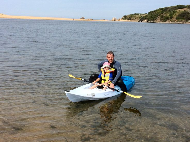 Easy to paddle with kids on board. 120kgs afloat