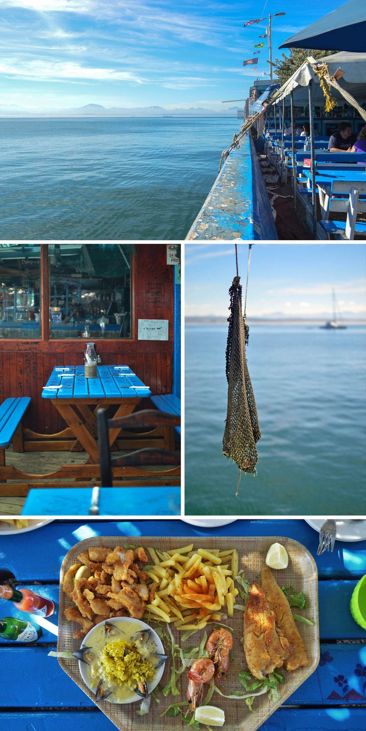 The Sea Gypsy Cafe, Mossel Bay Harbour, South Africa -  heneedsfood.com