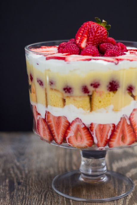 ... Parfaits on Pinterest | Berry trifle, Pumpkin trifle and Black forest