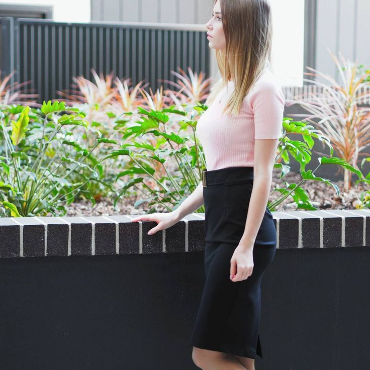 Everyday work style with pink