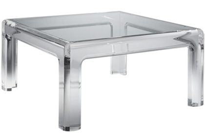 Mystique Lucite Coffee Table