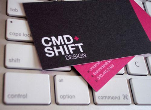 CMD+Shift Design Business Card
